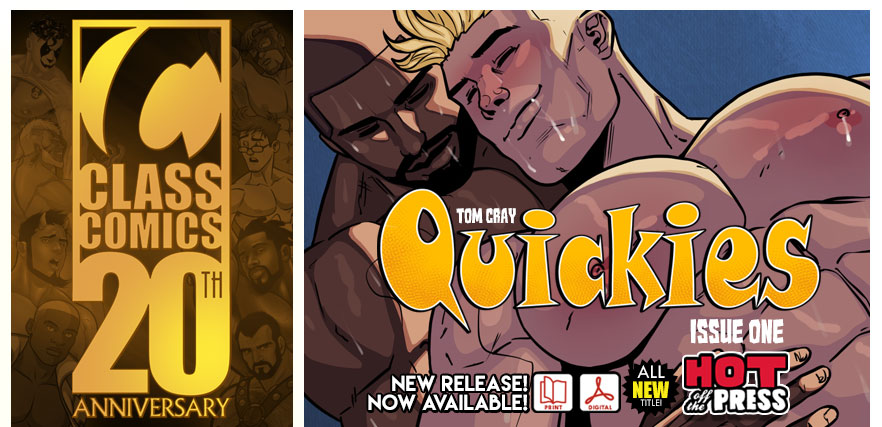 Class Comics: Your home for Erotic Gay Comics!