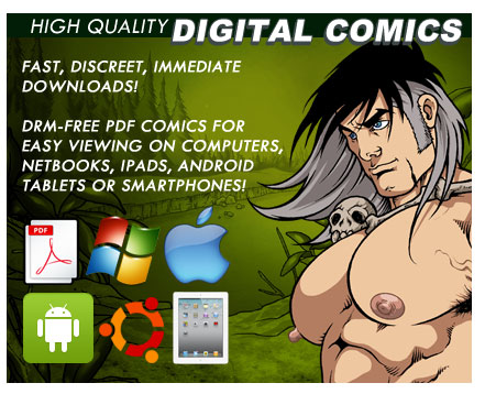 High Quality DRM-FREE Digital Erotic Gay Comics