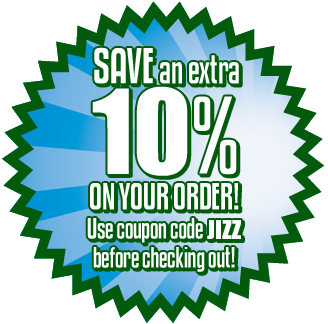 Save CASH off your order!
